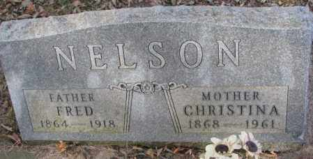 NELSON, CHRISTINA - Yankton County, South Dakota | CHRISTINA NELSON - South Dakota Gravestone Photos