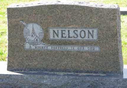 NELSON, FAMILY STONE - Yankton County, South Dakota   FAMILY STONE NELSON - South Dakota Gravestone Photos