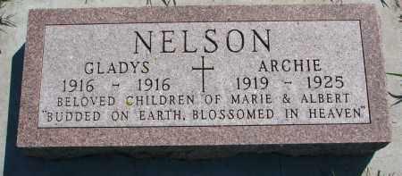 NELSON, ARCHIE - Yankton County, South Dakota   ARCHIE NELSON - South Dakota Gravestone Photos