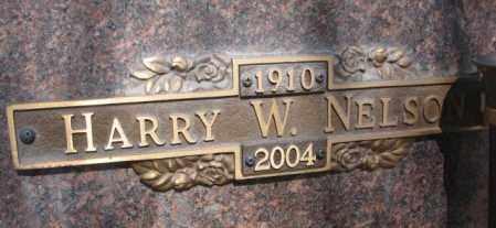 NELSON, HARRY W. - Yankton County, South Dakota | HARRY W. NELSON - South Dakota Gravestone Photos
