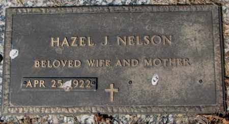 NELSON, HAZEL J. - Yankton County, South Dakota | HAZEL J. NELSON - South Dakota Gravestone Photos