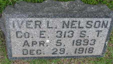 NELSON, IVER L. - Yankton County, South Dakota | IVER L. NELSON - South Dakota Gravestone Photos