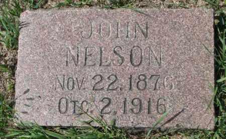 NELSON, JOHN - Yankton County, South Dakota | JOHN NELSON - South Dakota Gravestone Photos