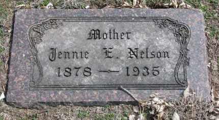 NELSON, JENNIE E. - Yankton County, South Dakota | JENNIE E. NELSON - South Dakota Gravestone Photos