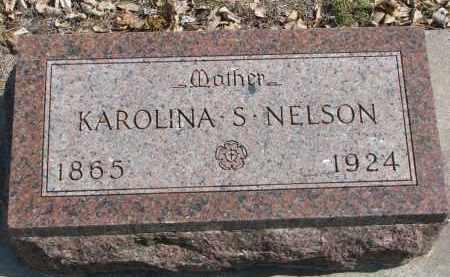 NELSON, KAROLINA S. - Yankton County, South Dakota | KAROLINA S. NELSON - South Dakota Gravestone Photos