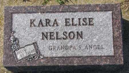 NELSON, KARA ELISE - Yankton County, South Dakota | KARA ELISE NELSON - South Dakota Gravestone Photos