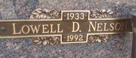 NELSON, LOWELL D. - Yankton County, South Dakota | LOWELL D. NELSON - South Dakota Gravestone Photos