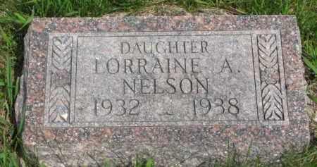 NELSON, LORRAINE A. - Yankton County, South Dakota | LORRAINE A. NELSON - South Dakota Gravestone Photos