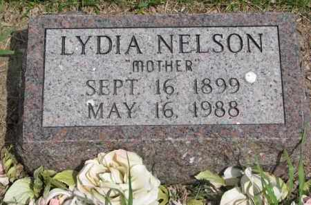 NELSON, LYDIA - Yankton County, South Dakota | LYDIA NELSON - South Dakota Gravestone Photos