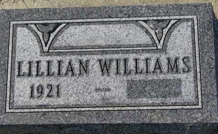 WILLIAMS NELSON, LILLIAN - Yankton County, South Dakota | LILLIAN WILLIAMS NELSON - South Dakota Gravestone Photos