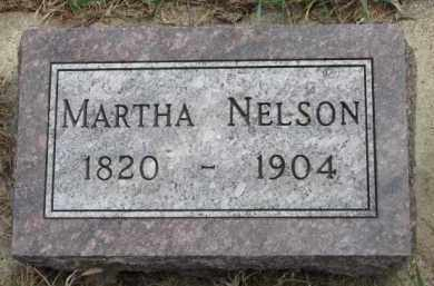 NELSON, MARTHA - Yankton County, South Dakota | MARTHA NELSON - South Dakota Gravestone Photos