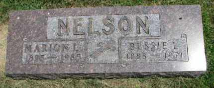 NELSON, MARION L. - Yankton County, South Dakota | MARION L. NELSON - South Dakota Gravestone Photos