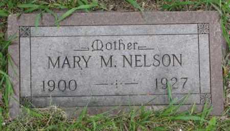 NELSON, MARY M. - Yankton County, South Dakota | MARY M. NELSON - South Dakota Gravestone Photos