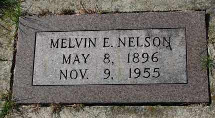 NELSON, MELVIN E. - Yankton County, South Dakota | MELVIN E. NELSON - South Dakota Gravestone Photos