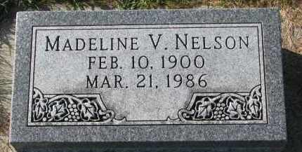 NELSON, MADELINE V. - Yankton County, South Dakota | MADELINE V. NELSON - South Dakota Gravestone Photos