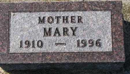 NELSON, MARY - Yankton County, South Dakota | MARY NELSON - South Dakota Gravestone Photos