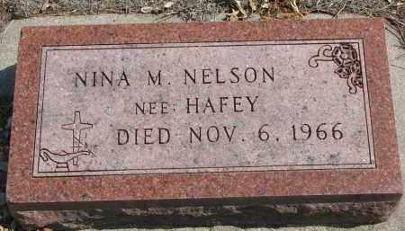 NELSON, NINA M. - Yankton County, South Dakota   NINA M. NELSON - South Dakota Gravestone Photos