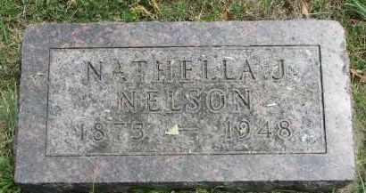 NELSON, NATHELLA J. - Yankton County, South Dakota   NATHELLA J. NELSON - South Dakota Gravestone Photos