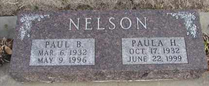 NELSON, PAULA H. - Yankton County, South Dakota   PAULA H. NELSON - South Dakota Gravestone Photos