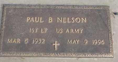 NELSON, PAUL B. (MILITARY) - Yankton County, South Dakota | PAUL B. (MILITARY) NELSON - South Dakota Gravestone Photos