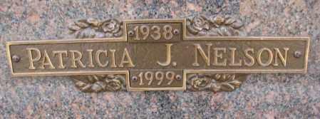 NELSON, PATRICIA J. - Yankton County, South Dakota | PATRICIA J. NELSON - South Dakota Gravestone Photos