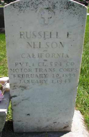 NELSON, RUSSELL E. - Yankton County, South Dakota | RUSSELL E. NELSON - South Dakota Gravestone Photos