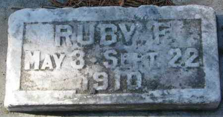 NELSON, RUBY F. - Yankton County, South Dakota | RUBY F. NELSON - South Dakota Gravestone Photos