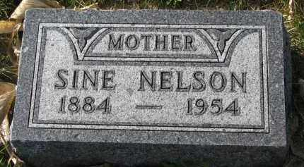 NELSON, SINE - Yankton County, South Dakota | SINE NELSON - South Dakota Gravestone Photos