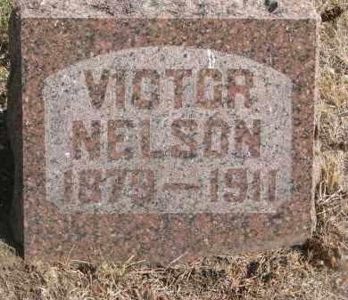 NELSON, VICTOR - Yankton County, South Dakota   VICTOR NELSON - South Dakota Gravestone Photos