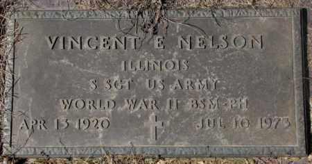NELSON, VINCENT E. (WW II) - Yankton County, South Dakota   VINCENT E. (WW II) NELSON - South Dakota Gravestone Photos