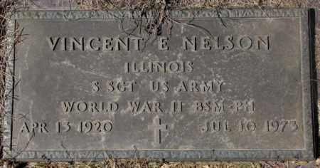 NELSON, VINCENT E. (WW II) - Yankton County, South Dakota | VINCENT E. (WW II) NELSON - South Dakota Gravestone Photos