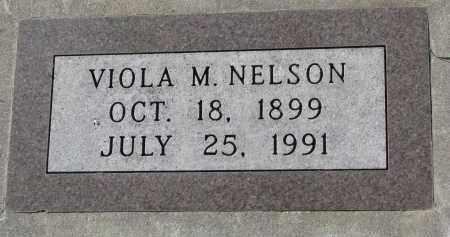 NELSON, VIOLA M. - Yankton County, South Dakota   VIOLA M. NELSON - South Dakota Gravestone Photos