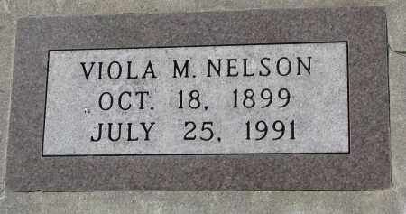 NELSON, VIOLA M. - Yankton County, South Dakota | VIOLA M. NELSON - South Dakota Gravestone Photos