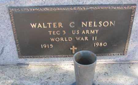 NELSON, WALTER C. (WW II) - Yankton County, South Dakota | WALTER C. (WW II) NELSON - South Dakota Gravestone Photos
