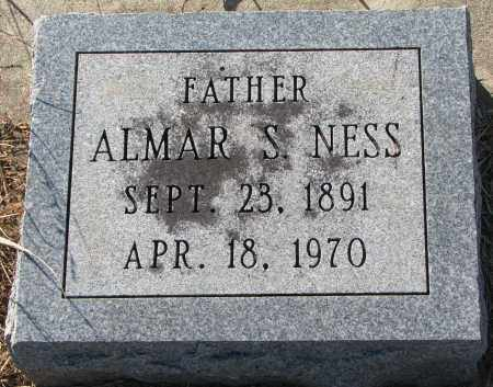 NESS, ALMAR S. - Yankton County, South Dakota | ALMAR S. NESS - South Dakota Gravestone Photos