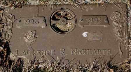 NEUHARTH, LAURENCE R. - Yankton County, South Dakota | LAURENCE R. NEUHARTH - South Dakota Gravestone Photos