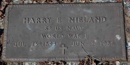 NIELAND, HARRY E. - Yankton County, South Dakota | HARRY E. NIELAND - South Dakota Gravestone Photos