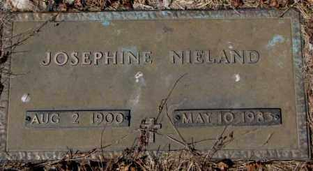NIELAND, JOSEPHINE - Yankton County, South Dakota | JOSEPHINE NIELAND - South Dakota Gravestone Photos