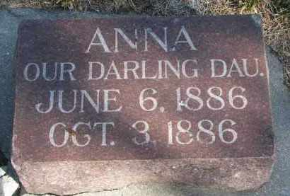 NIELSEN, ANNA - Yankton County, South Dakota   ANNA NIELSEN - South Dakota Gravestone Photos
