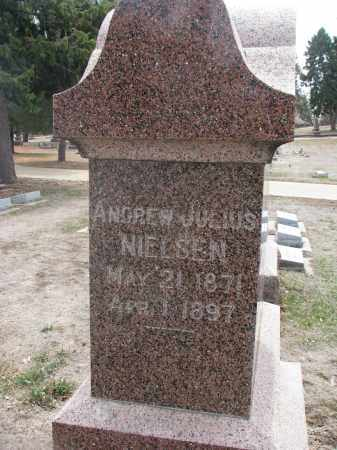 NIELSEN, ANDREW JULIUS - Yankton County, South Dakota | ANDREW JULIUS NIELSEN - South Dakota Gravestone Photos