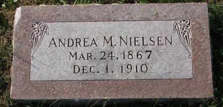 NIELSEN, ANDREA M. - Yankton County, South Dakota   ANDREA M. NIELSEN - South Dakota Gravestone Photos