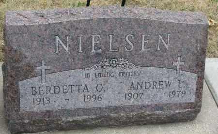 NIELSEN, BERDETTA C. - Yankton County, South Dakota | BERDETTA C. NIELSEN - South Dakota Gravestone Photos