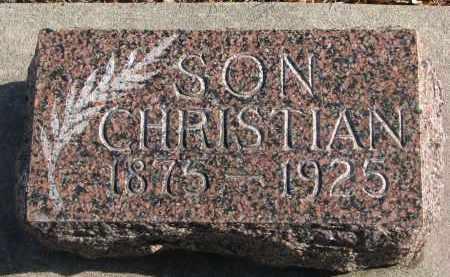 NIELSEN, CHRISTIAN - Yankton County, South Dakota | CHRISTIAN NIELSEN - South Dakota Gravestone Photos