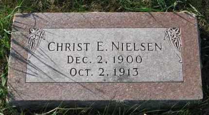 NIELSEN, CHRIST E. - Yankton County, South Dakota | CHRIST E. NIELSEN - South Dakota Gravestone Photos