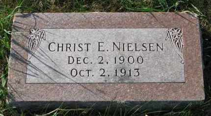 NIELSEN, CHRIST E. - Yankton County, South Dakota | CHRIST E. NIELSEN - South Dakota Gravestone Photos