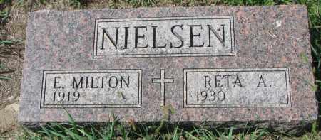 NIELSEN, E. MILTON - Yankton County, South Dakota | E. MILTON NIELSEN - South Dakota Gravestone Photos