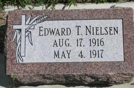 NIELSEN, EDWARD T. - Yankton County, South Dakota   EDWARD T. NIELSEN - South Dakota Gravestone Photos