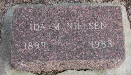 NIELSEN, IDA M. - Yankton County, South Dakota | IDA M. NIELSEN - South Dakota Gravestone Photos