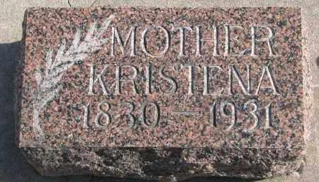 NIELSEN, KRISTENA - Yankton County, South Dakota | KRISTENA NIELSEN - South Dakota Gravestone Photos