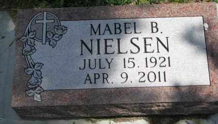 NIELSEN, MABEL B. - Yankton County, South Dakota | MABEL B. NIELSEN - South Dakota Gravestone Photos